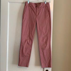 Jcrew effortless crop pants